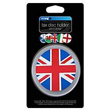 image of Type S Multi Flag Tax Disc Holder