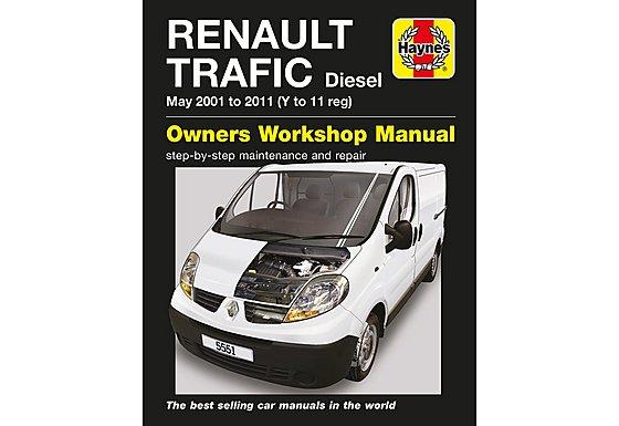 Haynes Renault Trafic Diesel (01-11) Manual