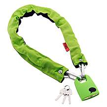 image of Knog Straight Jacket Fatty Chain and Lock - Lime