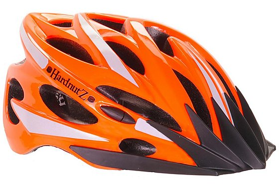 HardnutZ Hi Vis Orange Road Bike Helmet - 54-62cm