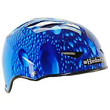 image of HardnutZ Blue Rain Street Bike Helmet - Small - 51-54cm