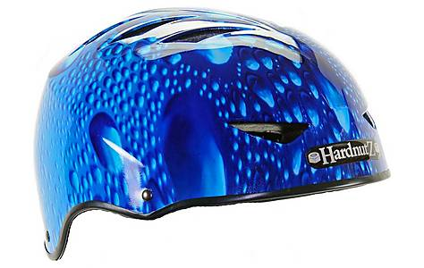 image of HardnutZ Blue Rain Street Bike Helmet - Medium (54-58cm)
