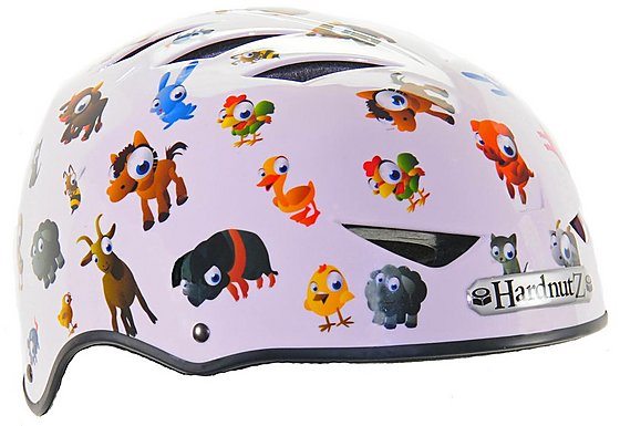 HardnutZ Old MacDonald Street Bike Helmet - Medium (54-58cm)
