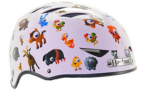 image of HardnutZ Old MacDonald Street Bike Helmet - Medium (54-58cm)