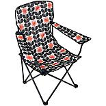 Olive and Orange by Orla Kiely Folding Chair - Navy