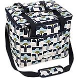 Olive and Orange by Orla Kiely Family Cool Bag