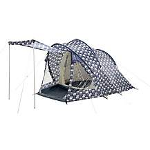 image of Olive and Orange by Orla Kiely 2 Person Plus Tent
