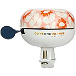 image of Olive and Orange by Orla Kiely Classic Bike Bell - Pink