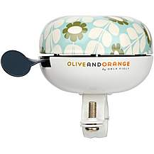 image of Olive and Orange by Orla Kiely Classic Bike Bell - Duck Egg