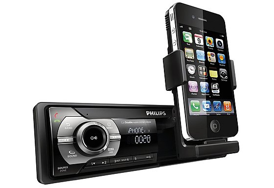 Refurbished Philips CMD310 iPhone USB Bluetooth Car Stereo