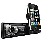 image of Refurbished Philips CMD310 iPhone/USB/Bluetooth Car Stereo