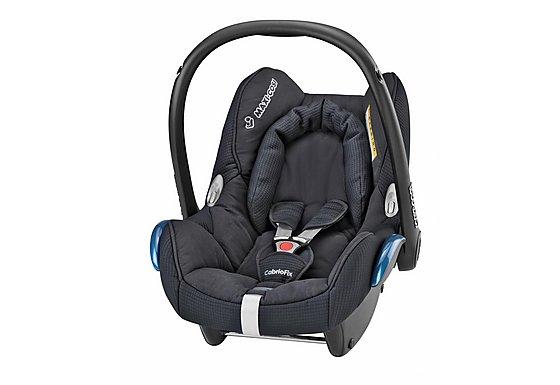 Maxi-Cosi Cabriofix Baby Car Seat Total Black