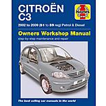 Haynes Citroen C3 Petrol & Diesel (02-09) Manual