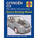 image of Haynes Citroen C3 Petrol & Diesel (02-09) Manual