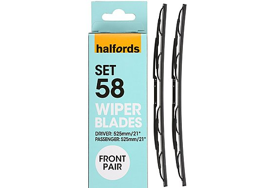 Halfords Wiper Blade Set 51 - Standard