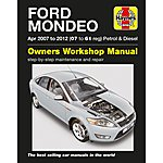 image of Haynes Ford Mondeo Petrol and Diesel Manual (07 - 12)