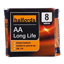 image of Halfords AA x 8 Batteries