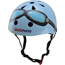 image of Kiddimoto Blue Goggle Helmet