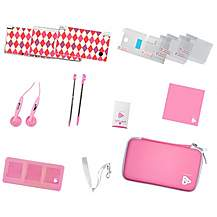 image of Playfect Classic Pink Travel Pack For DSI/DS/DSLITE