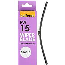 image of Halfords FW15 Wiper Blade - Single