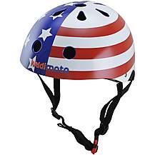 image of Kiddimoto USA Flag Helmet