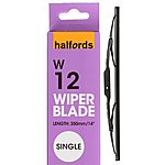 image of Halfords W12 Wiper Blade - Single