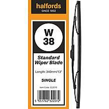 Halfords W38 Wiper Blade - Single