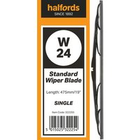 Halfords W02 Wiper Blade - Single