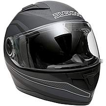 Duchinni D705 Black/Gunmetal Full Face Motorc