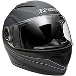 Duchinni D705 Black/Gunmetal Full Face Motorcycle Helmet