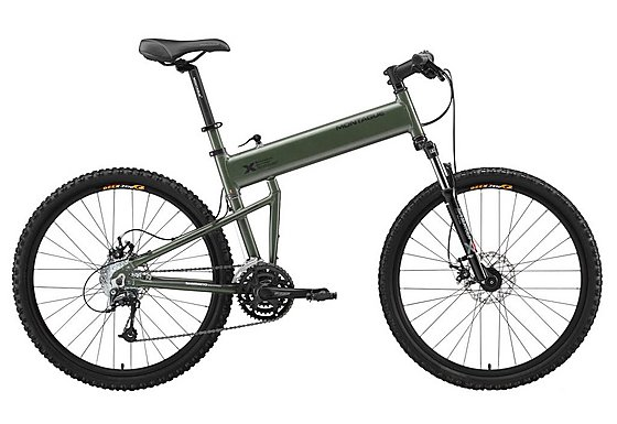 Montague Paratrooper Folding Mountain Bike - 18