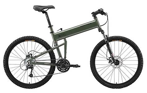 image of Montague Paratrooper Folding Mountain Bike - 18""