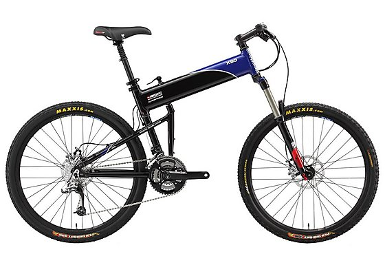 Montague X90 Folding Mountain Bike - 20