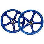 "Skyway Composite Pair of BMX 20"" Wheels - Blue"