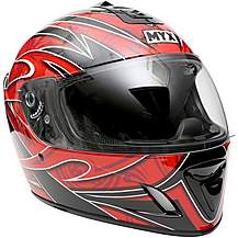 image of MYX Full Face Motorcycle Helmet - Graphic