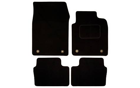 image of Halfords (SS1310) Vauxhall Vectra Car Mats (03-08) BLK