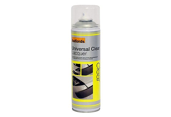 Halfords Universal Clear Lacquer 500ml