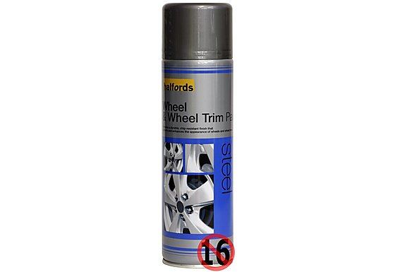 Halfords Wheel & Wheel Trim Paint Steel 500ml