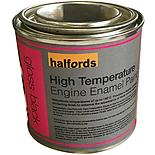 Halfords High Temperature Engine Enamel Paint - Gloss Black 250ml