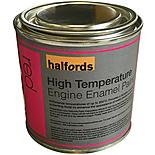 Halfords High Temperature Engine Enamel Paint Red 250ml