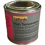 image of Halfords High Temperature Engine Enamel Paint Red 250ml