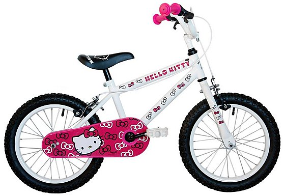 Hello Kitty Girls Bike  16
