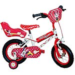image of Disney Minnie Mouse Girls Bike - 12""