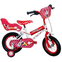 Disney Minnie Mouse Girls Bike - 12""