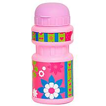 image of Apollo Sugar & Spice, Cupcake and Petal Girls Bike Water Bottle