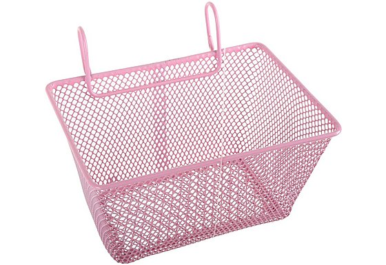 Girls Metal Wire Bike Basket