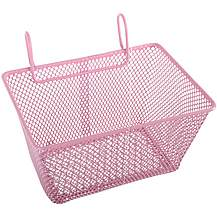 image of Girls Metal Wire Bike Basket