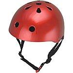 image of Kiddimoto Metallic Red Helmet