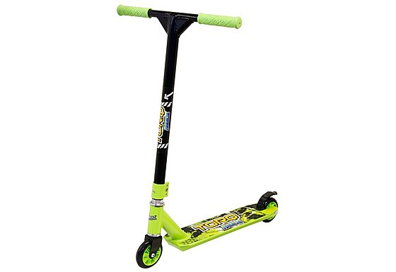 Torq Radical Stunt Scooter - Lime & Black