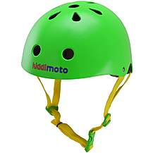 image of Kiddimoto Neon Green Helmet